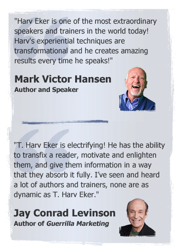 Mark Victor Hansen and Jay Conrad Levinson