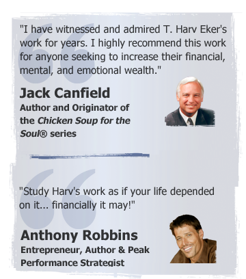 Jack Canfield and Anthony Robbins