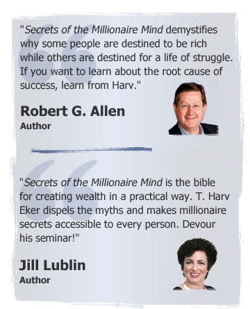 Robert G. Allen and Jill Lublin