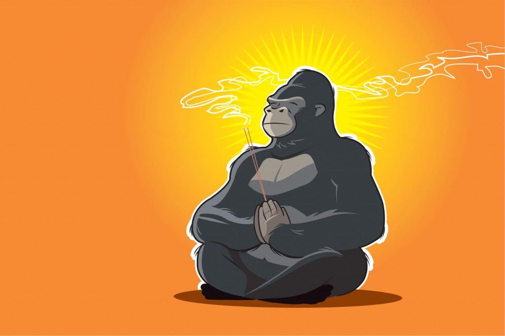 2 Simple Steps To Quieting Your Monkey Mind Once And For All