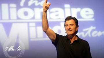 harv eker pointing up