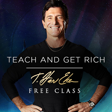 teach and get rich harv eker