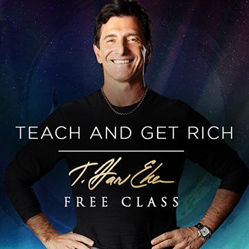 teach and get rich harv eker