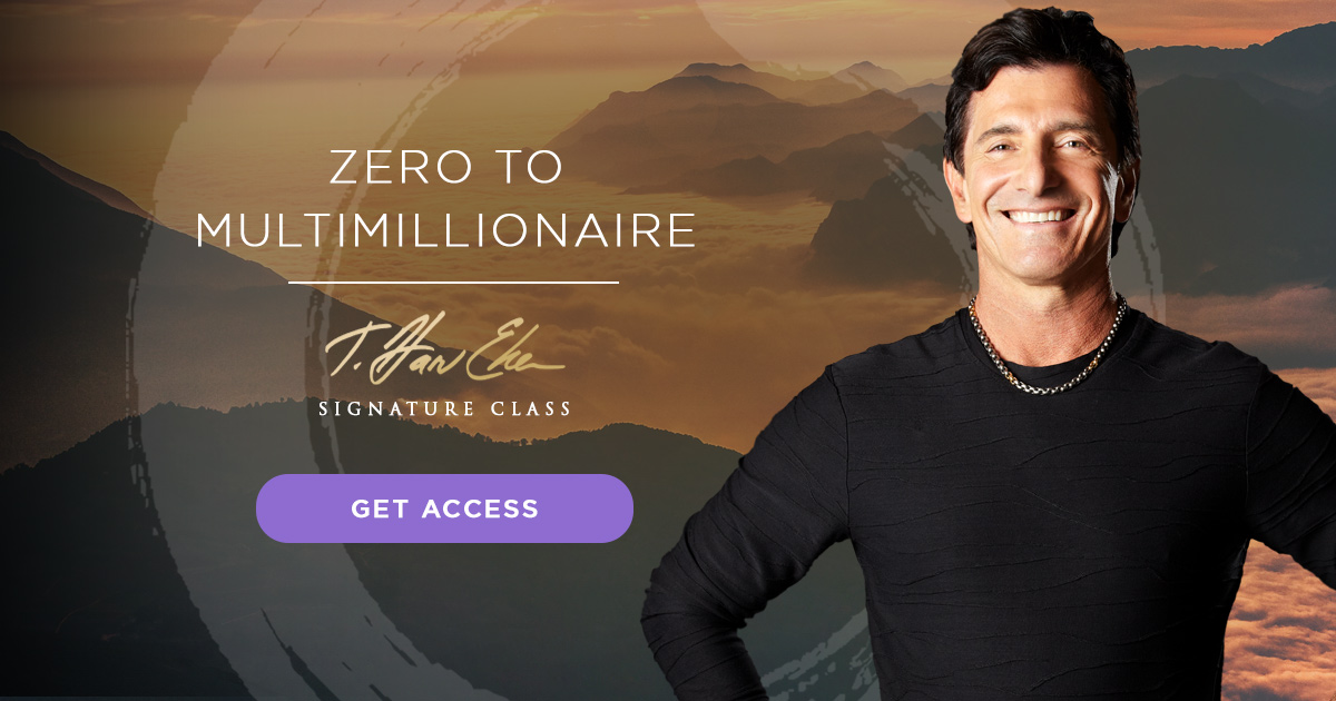 zero to millionaire starting a new business signature class