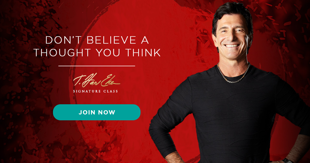 T. Harv Eker free web class creating a mindset to follow your passion